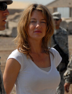 Cynthia Watros Iraq 1