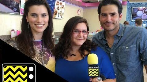 Finding Carter Stars Milena Govich ( Lori) & Eddie Matos (Kyle) AfterBuzz TV Interview