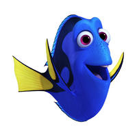 Dory Flippers Up