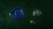 Dory Marlin and Nemo