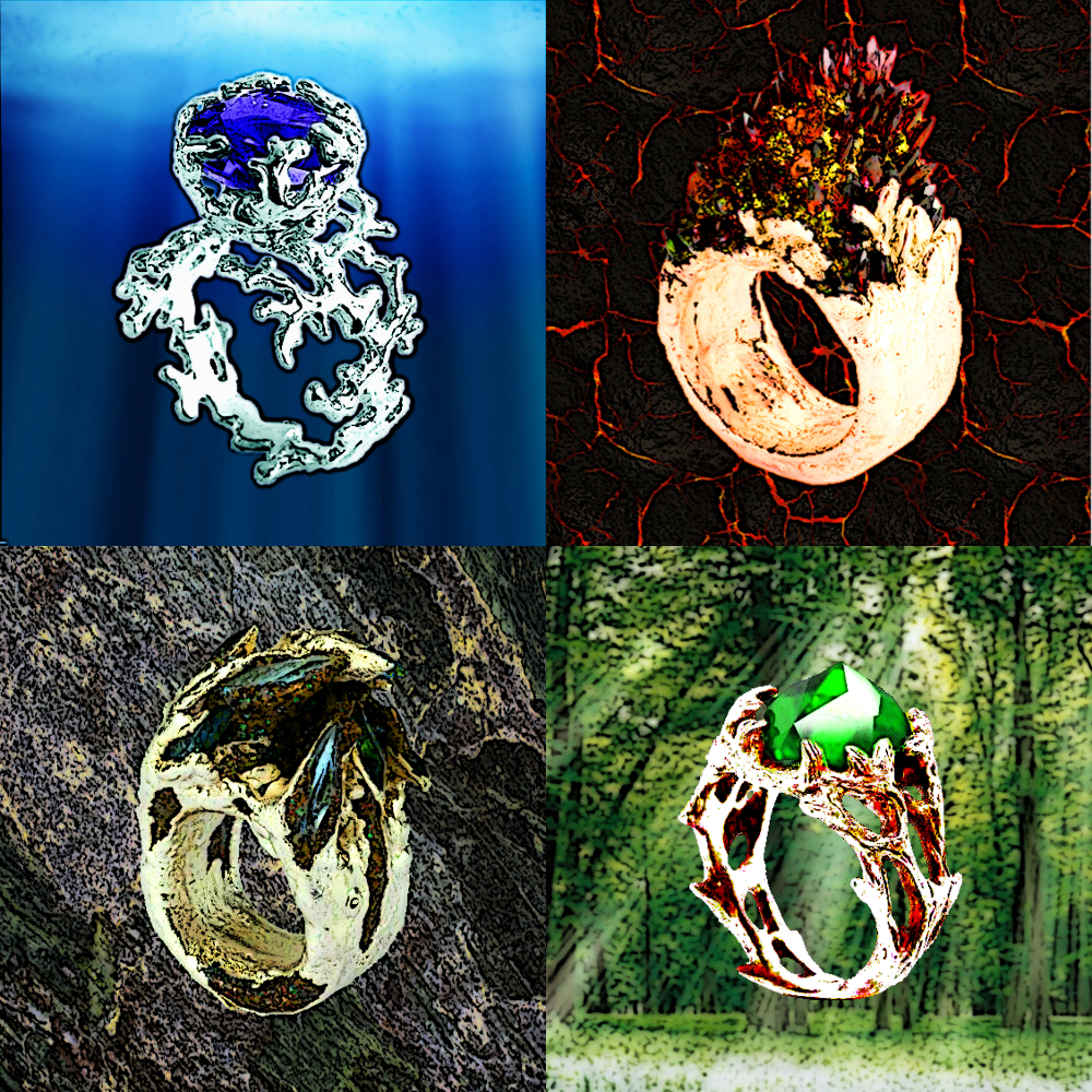 elemental image products crystal rings ring polished austrian product fashions