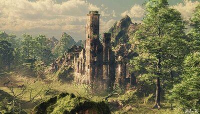 Longcrossing temple of Mortus