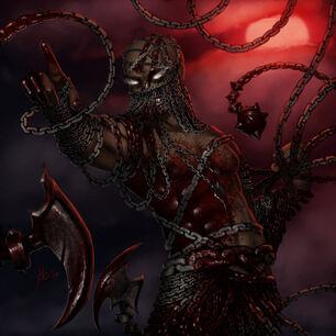 Kyton chain devil by khiralas-d6xqum8