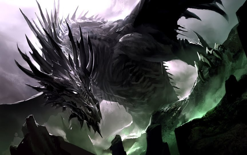 Image result for D&D shadow dragon
