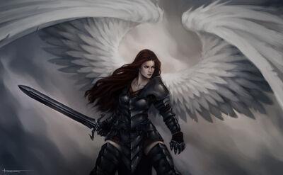 Warrior angel 23 06 12 by lucastorquato27-d5mlyi7