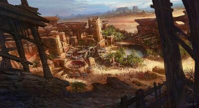 Desert village by crs1009-d5zij53