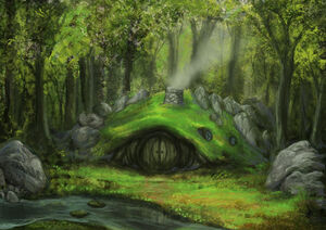 A home in the woods by isdira-d53plvp