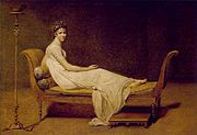 180px-Madame Récamier painted by Jacques-Louis David in 1800