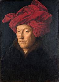 280px-Portrait of a Man by Jan van Eyck-small