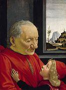 132px-Domenico ghirlandaio, ritratto di nonno con nipote
