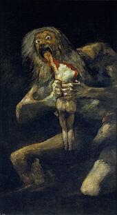 326px-Francisco de Goya, Saturno devorando a su hijo (1819-1823)
