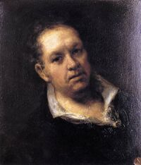 Goya Self-portrait