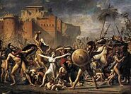 220px-The Intervention of the Sabine Women