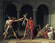 220px-Jacques-Louis David, Le Serment des Horaces