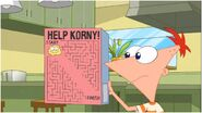 Phineas shows the easy maze