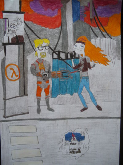 Phineas and Ferb meets Half-Life 2