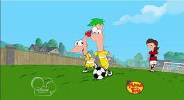 Pinhead Pierre Girl playing soccer