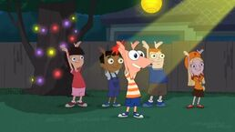 Phineas dancing to SBTY