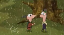 Phineas talks about the rain