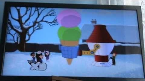 """Czołówka """"Fineasz i Ferb"""" do odcinków """"Tylko dla twoich lodów"""" i """"Szczęśliwego Nowego Roku!"""""""