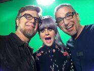 Dan, Kelly, and Swampy