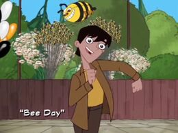 Bee Day title card