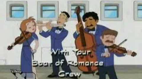 """""""Fineasz i Ferb"""" - """"Statek miłości"""""""