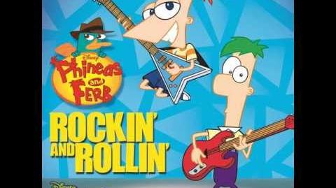 Phineas and Ferb - Quirky Worky Song (Soundtrack Version)