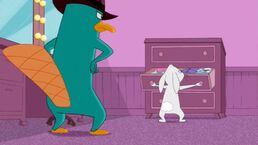 Perry encounters Dennis