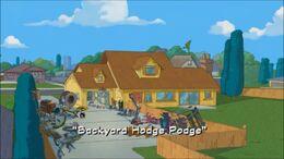 Backyard Hodge Podge - title card