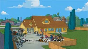 Backyard Hodge Podge - title card