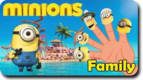Finger Family Minion Family Despicable Me Finger Family Rhymes For Children