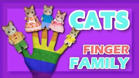 Cats Finger Family Song