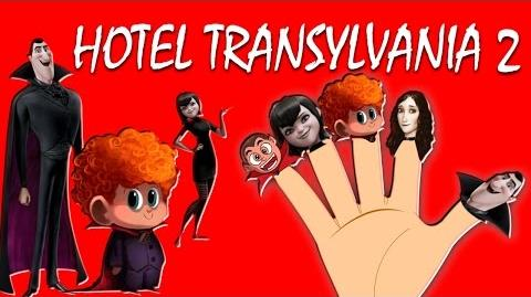 HOTEL TRANSYLVANIA 2 Finger Family Nursery Rhymes for Childrens