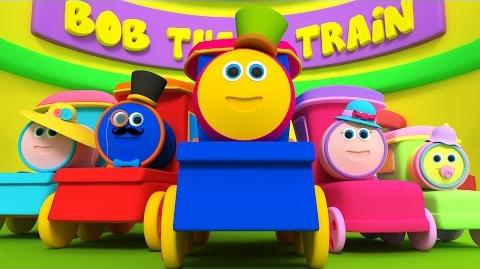 Bob, The Train Finger Family Song Nursery Rhymes And Children's Songs With Bob