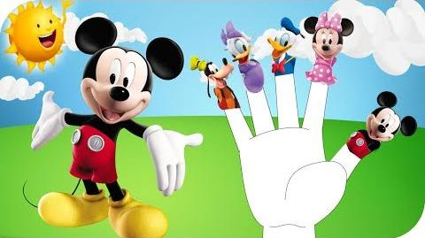 Finger Family Mickey Mouse Nursery Rhyme