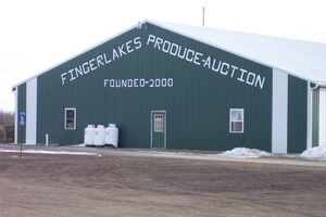 Finger Lakes Produce Auction Barn, New York