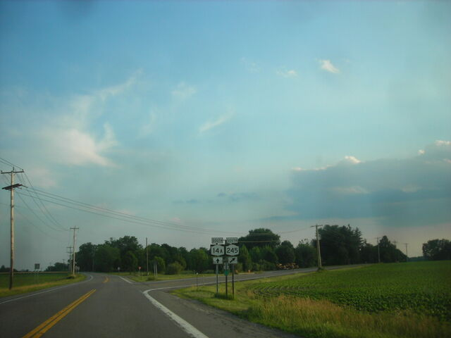 File:South end of NY Route14A and NY Route 245 overlap.jpg