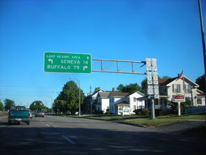 South end of NY Route 332 Canandaigua