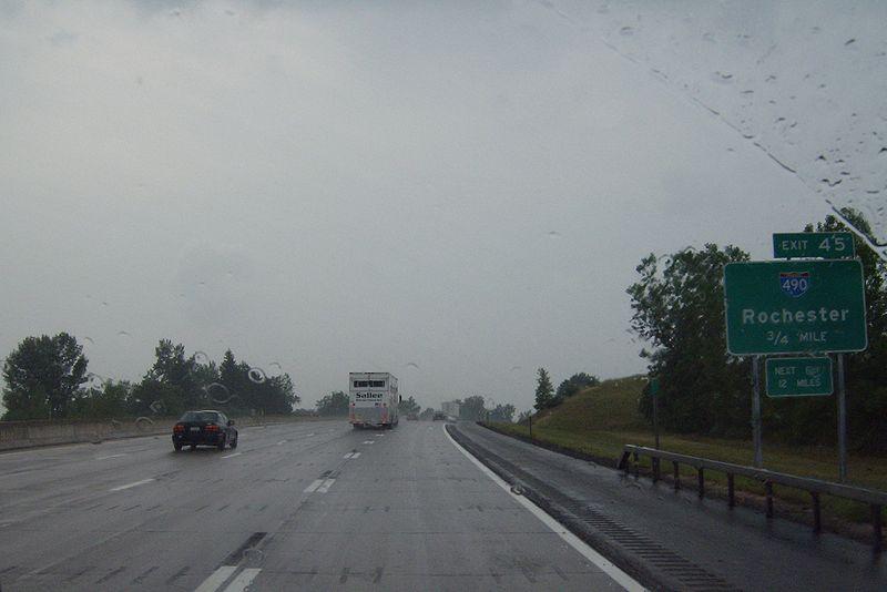 interstate 90  the thruway
