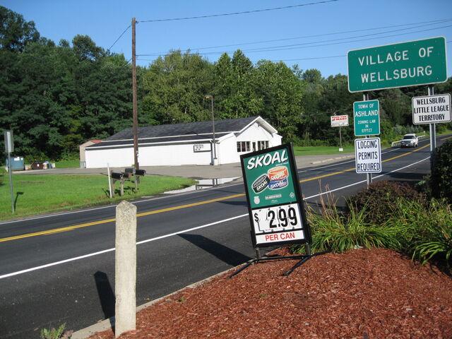 File:New York State Route 367 entering Wellsburg.jpg