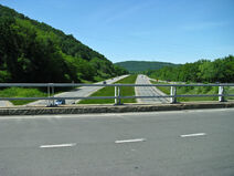 Court street bridge over interstate 86 Owego