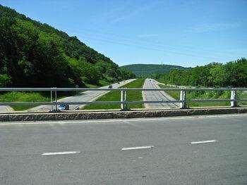 Court street bridge over interstate 86 Owego