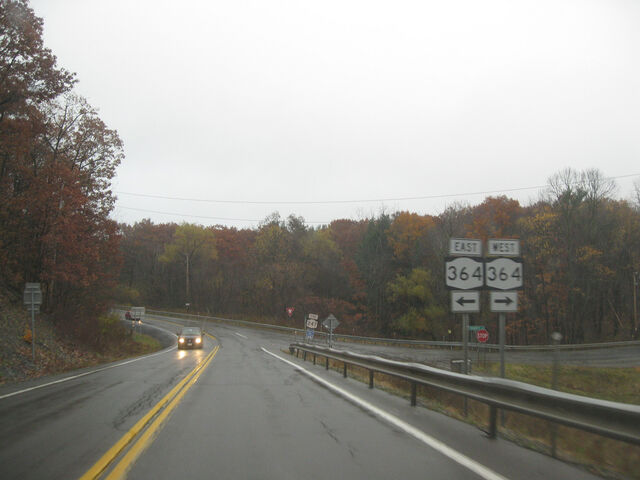File:Route 247 meeting route 364 in Potter.jpg