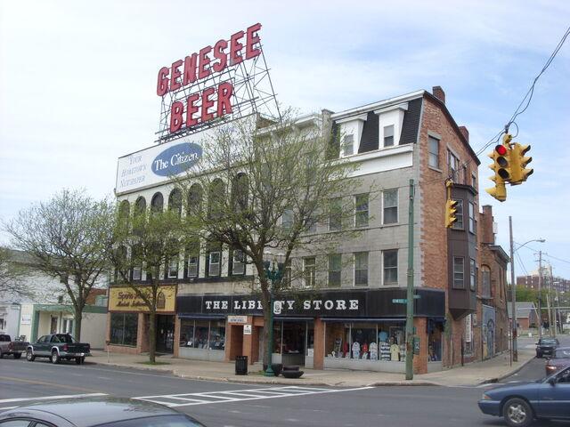 File:Downtown Auburn, New York Genesee Beer sign.jpg