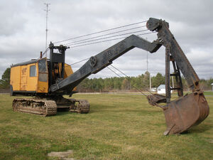 Northwest Excavator at the Pageant of Steam Grounds