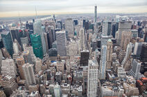 Midtown Manhattan aerial from Empire State Building