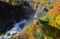 Letchworth State Park in autumn