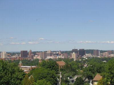 Syracuse New York Skyline