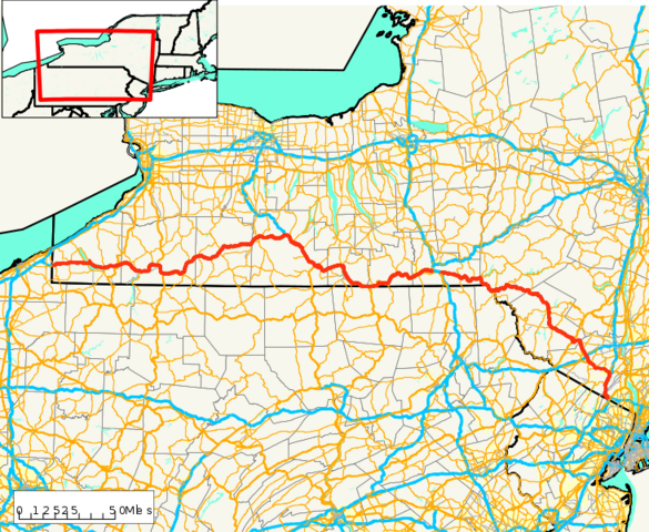 File:New York State Route 17 map.png